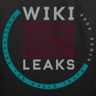 Design ~ WikiLeaks Supporter (incl $24.70 donation)