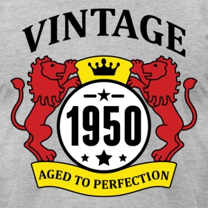 Vintage 1950 Aged to Perfection T-Shirts - Men's T-Shirt by American Apparel