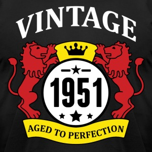 Vintage 1951 Aged to Perfection T-Shirts - Men's T-Shirt by American Apparel