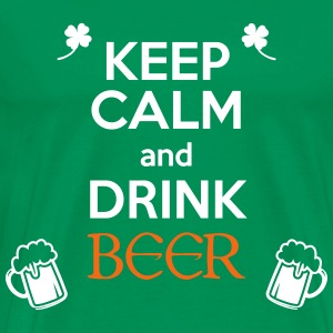 Keep Calm Drink Beer - Men's Premium T-Shirt