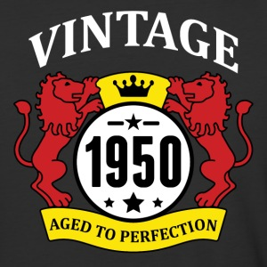 Vintage 1950 Aged to Perfection T-Shirts - Baseball T-Shirt
