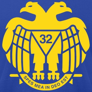 Freemason Scottish Rite 32 - Men's T-Shirt by American Apparel