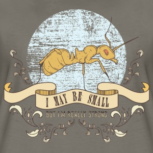 ant_small_but_strong_02201601 Women's T-Shirts - Women's Premium T-Shirt