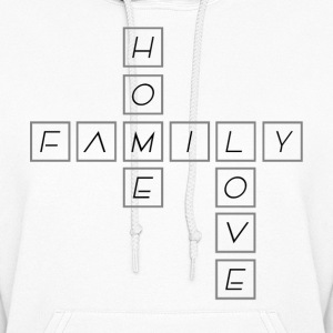 Home Family Love - Women's Hoodie
