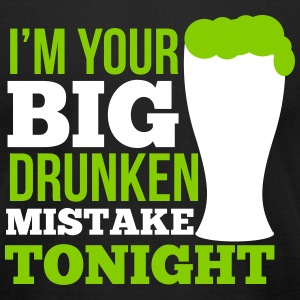St. Patrick's Day: I'm your big drunken mistake T-shirts - T-shirt pour hommes American Apparel