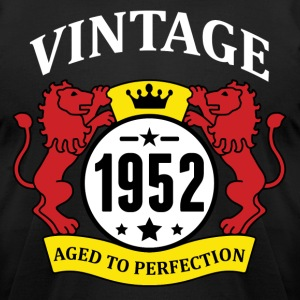 Vintage 1952 Aged to Perfection T-Shirts - Men's T-Shirt by American Apparel