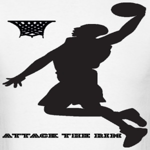 Basketball Attack the rim - Men's T-Shirt