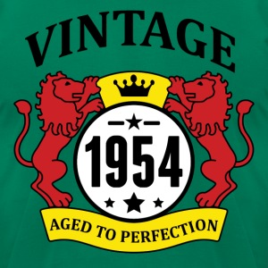 Vintage 1954 Aged to Perfection T-Shirts - Men's T-Shirt by American Apparel
