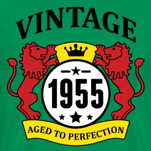 Vintage 1955 Aged to Perfection T-Shirts - Men's Premium T-Shirt