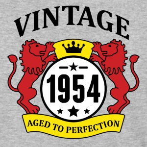 Vintage 1954 Aged to Perfection T-Shirts - Baseball T-Shirt
