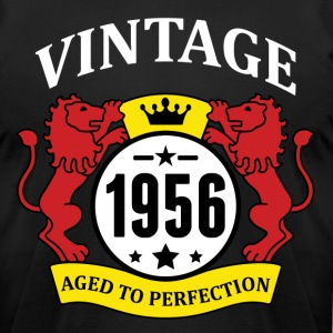 Vintage 1956 Aged to Perfection T-Shirts - Men's T-Shirt by American Apparel