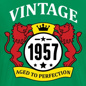 Vintage 1957 Aged to Perfection T-Shirts - Men's Premium T-Shirt
