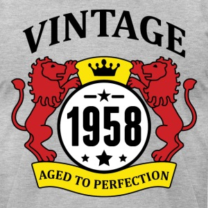 Vintage 1958 Aged to Perfection T-Shirts - Men's T-Shirt by American Apparel
