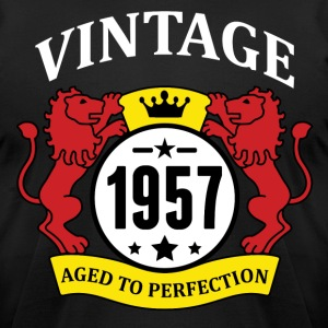 Vintage 1957 Aged to Perfection T-Shirts - Men's T-Shirt by American Apparel