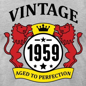 Vintage 1959 Aged to Perfection T-Shirts - Men's T-Shirt by American Apparel