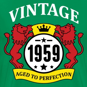 Vintage 1959 Aged to Perfection T-Shirts - Men's Premium T-Shirt