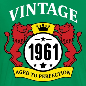 Vintage 1961 Aged to Perfection T-Shirts - Men's Premium T-Shirt