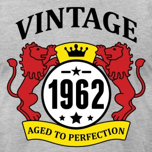 Vintage 1962 Aged to Perfection T-Shirts - Men's T-Shirt by American Apparel