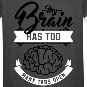 my brain has too many tabs open T-Shirts - Vintage Sport T-Shirt