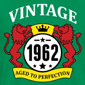 Vintage 1962 Aged to Perfection T-Shirts - Men's Premium T-Shirt