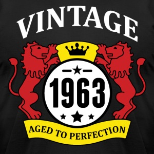Vintage 1963 Aged to Perfection T-Shirts - Men's T-Shirt by American Apparel