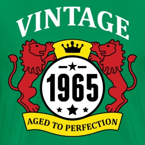 Vintage 1965 Aged to Perfection T-Shirts - Men's Premium T-Shirt