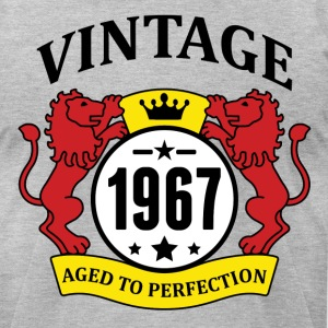 Vintage 1967 Aged to Perfection T-Shirts - Men's T-Shirt by American Apparel