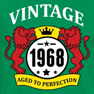 Vintage 1968 Aged to Perfection T-Shirts - Men's Premium T-Shirt
