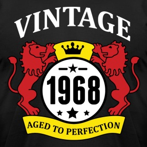 Vintage 1968 Aged to Perfection T-Shirts - Men's T-Shirt by American Apparel