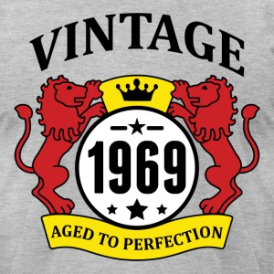 Vintage 1969 Aged to Perfection T-Shirts - Men's T-Shirt by American Apparel