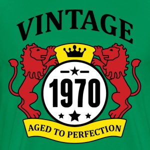Vintage 1970 Aged to Perfection T-Shirts - Men's Premium T-Shirt