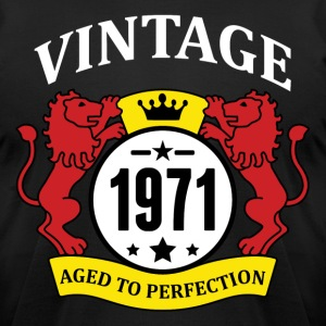 Vintage 1971 Aged to Perfection T-Shirts - Men's T-Shirt by American Apparel