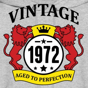 Vintage 1972 Aged to Perfection Hoodies - Men's Hoodie