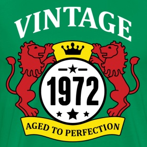 Vintage 1972 Aged to Perfection T-Shirts - Men's Premium T-Shirt