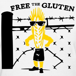 Free the Gluten - Women's T-Shirt