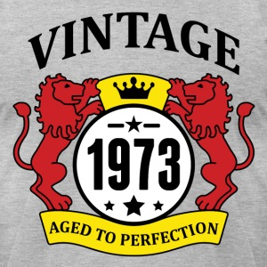 Vintage 1973 Aged to Perfection T-Shirts - Men's T-Shirt by American Apparel