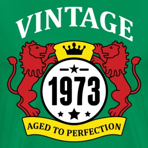 Vintage 1973 Aged to Perfection T-Shirts - Men's Premium T-Shirt