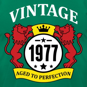 Vintage 1977 Aged to Perfection T-Shirts - Men's T-Shirt by American Apparel