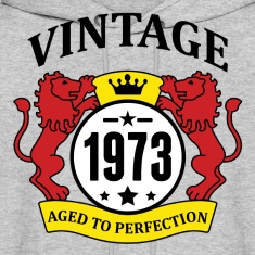 Vintage 1973 Aged to Perfection Hoodies