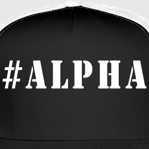 #Alpha Caps - Trucker Cap