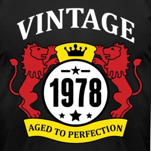 Vintage 1978 Aged to Perfection T-Shirts - Men's T-Shirt by American Apparel