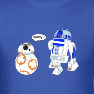 bb8 and r2d2 - Men's T-Shirt