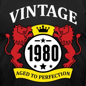 Vintage 1980 Aged to Perfection T-Shirts - Men's T-Shirt by American Apparel