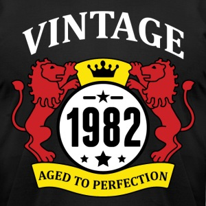 Vintage 1982 Aged to Perfection T-Shirts - Men's T-Shirt by American Apparel