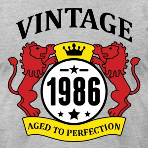 Vintage 1986 Aged to Perfection T-Shirts - Men's T-Shirt by American Apparel