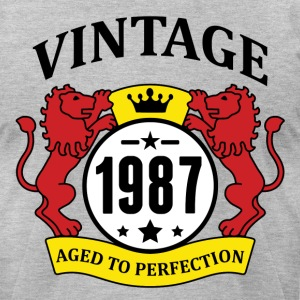 Vintage 1987 Aged to Perfection T-Shirts - Men's T-Shirt by American Apparel