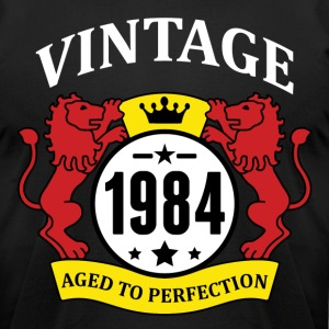 Vintage 1984 Aged to Perfection T-Shirts - Men's T-Shirt by American Apparel