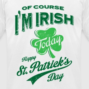 St. Patrick's Day T-shirt - Men's T-Shirt by American Apparel