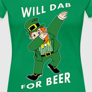Will Dab For Beer Women's T-Shirts - Women's Premium T-Shirt