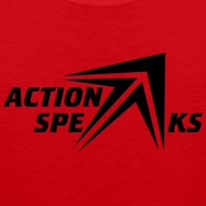Action Speaks - Men's Premium Tank